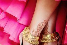 Sexy Mehandi Anklet Legs