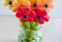 Vykrajované ovoce a zelenina