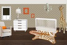 baby rooms / by Mitzi James