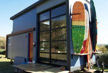 Tiny Home Garage Doors