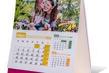 Calendarios personalizados / Calendarios con tus fotos, tus diseños, tus textos o lo que tú quieras. Calendarios de bolsillo, de sobremesa, de pared, y de faldilla. Infinidad de diseños profesionales personalizados para que coloques tus fotos en ellos.
