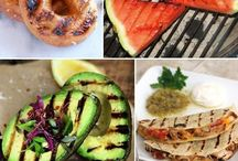 Different food to grill
