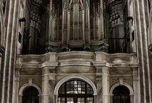 Templomi orgonák.