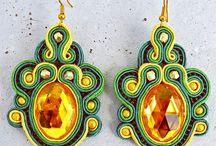 ZUZ Desgin / Handmade náušnice Zuz Design.Každý šperk je jedinečný, neopakovateľný autorský originál, tvorený s láskou a trpezlivosťou.