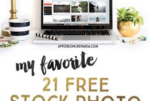 Stock photos / Where to find free or inexpensive stock photos to bring your blog or website to life.