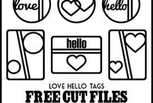 Free cut files / by Valerie Bishop