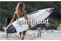 Teenage bucket list / Yes I have to try these