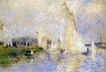 Impresionismo francés / cuadros pertenecientes al periodo del Impresionismo en Francia.