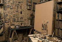 Creative Spaces / Places of inspiration where creation is born...