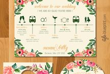 wedding . planning + collateral