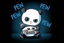 Gaming Panda! *>w<*