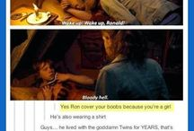 Funny scenes from Harry Potter