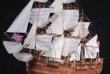 Ships_Modell hajók