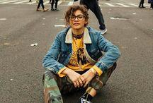 Street style & tomboy fashion