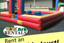 Inflatables / Bounce Houses, Bungee Run, Joust and many more! Call: 570-366-1071 for a price! Email: Info@arkrentals.com