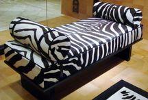 Zebra Print Home Decor / I love Zebra Print. Here are some of my favourites!