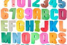 3D Square Letters