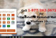 Call 1-8772423672 to uninstall and reinstall mail app on windows 10