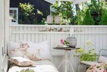 terrazas originales / espeacios para descansar
