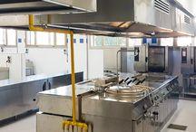 Allestimento cucina caserma Marotta,Ancona
