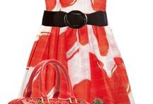 I love dresses - orange