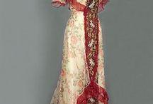 gamla kläder dam 1900