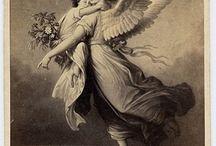 Desenho do anjo