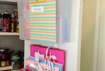Gift bag storage / by Morgan Baldwin