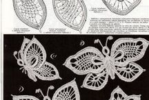Tejidos / Alguien sabe como se hacen estos tejidos ? Ayuda por favor !!