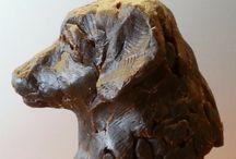 dieren / figuratieve realistische bronzen beelden van dieren