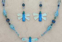 Fused Glass Jewelry / Fused Glass Dichroic Jewelry