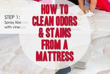 cleaning a mattress