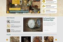 Hobi-El Sanatları Tasarımları / Web Tasarımı