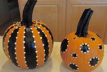 Painting pumpkins  / by Alyssa Perez