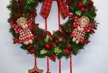 Στεφάνια Χριστουγεννα