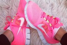 I like running and sneakers