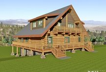 Daryush Floor Plan / The Daryush design is a 2300 sq.ft. main and second floor living space log home plus a full daylight basement.