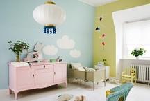 Kinderkamerinspiratie Pastel / Mooie sfeerbeelden van en producten voor de kinderkamer in pastelkleuren