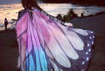 Silk Isis wings / My works