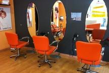 La peluquería / Aquí podrás conocer rincón a rincón nuestra peluquería