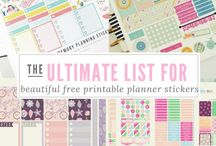 Free Download Planner Stickers