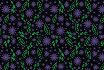 d & c design: surface patterns / patterns, pattern design, designs, illustrations, art illustrations, handdrawn, surface patterns, surface designs, flowers, vines, leaves, geometric, abstract, home decor, fashion, fabric, redbubble, society6, zazzle, clothing, graphics, graphic design,