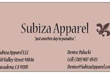 Subiza Apparel / by Denise Palucki