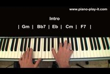 tutoriales de canciones de piano