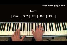 tutoriales de canciones de piano