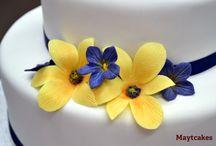 Flores de azucar - Sugar flowers
