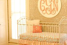 Baby Girl Nursery Ideas / Sugar and spice and all things nice... we're sharing our favorite girl nurseries. From glam to shabby chic and everything in between!