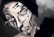 Makeup - Grafic / by Diana Ionescu