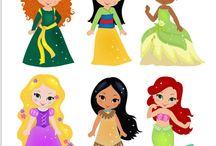 princesas infantiles Disney
