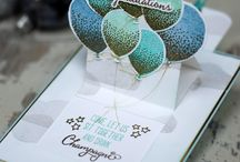 Stampin up Baloon